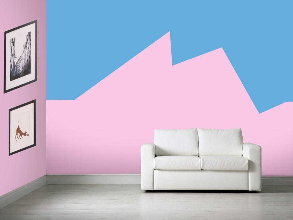 ทาสีผนังบ้าน